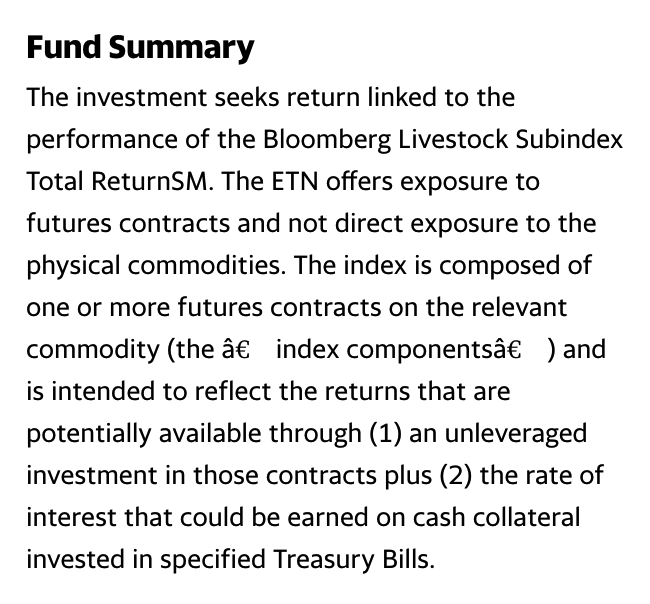 COW: Fund Summary