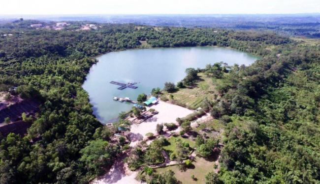 Unit Usaha Gurita Bakrie Sulap Lahan Bekas Tambang Jadi Kawasan Ekowisata