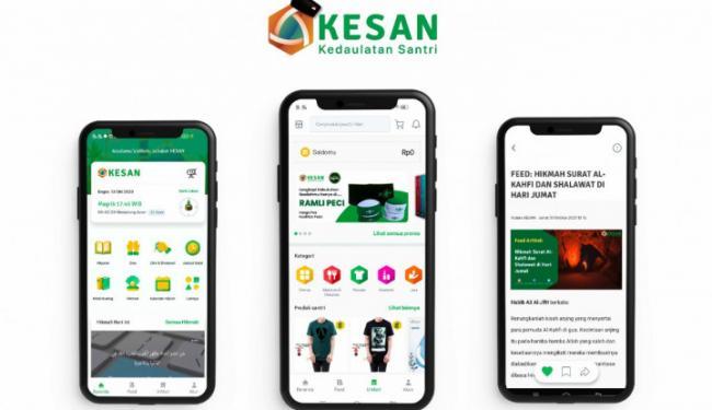 Dukung UMKM Go-Digital, Aplikasi KESAN Luncurkan Marketplace Ramah Santri