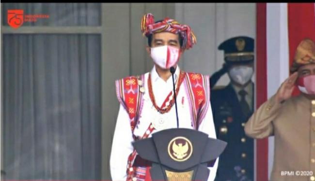 Jokowi Klaim Tingkat Kesembuhan Covid-19 Membaik