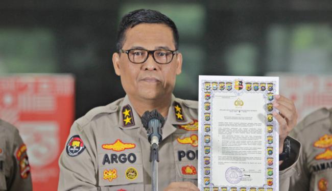 Demo Tolak RUU Ciptaker, Polisi Tuding Tangkap 700-an Kelompok Anarko