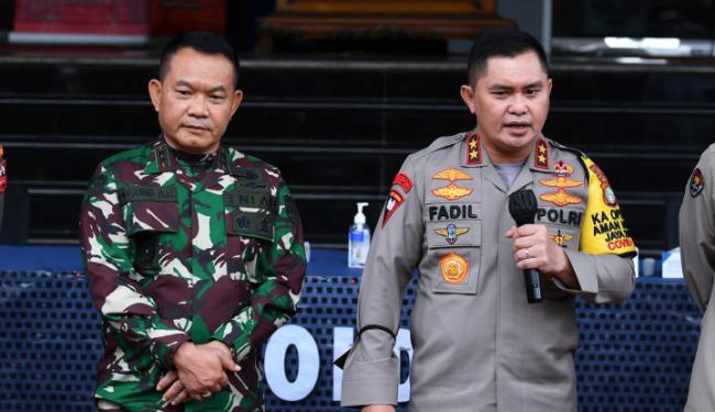 Terpaksa Tembak Anggota FPI, Begini Kronologi versi Polda Metro Jaya