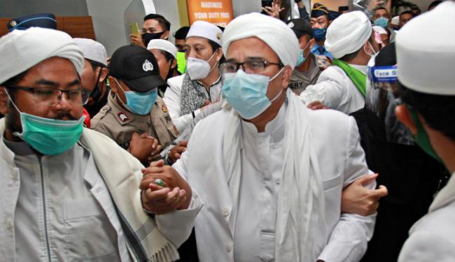 Habib Rizieq Sudah Jadi Tersangka, Pak Polisi Kapan Mau Dijemput? Biar Cepat..