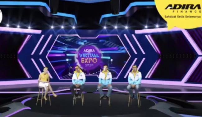 Gelar Vitrual EXPO 2020, Adira Finance Tawarkan Kemudahan Pembiayaan