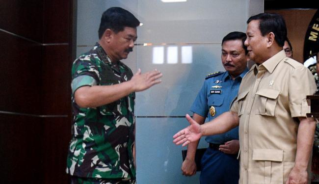 Panglima Hadi Mutasi 14 Perwira Tinggi TNI