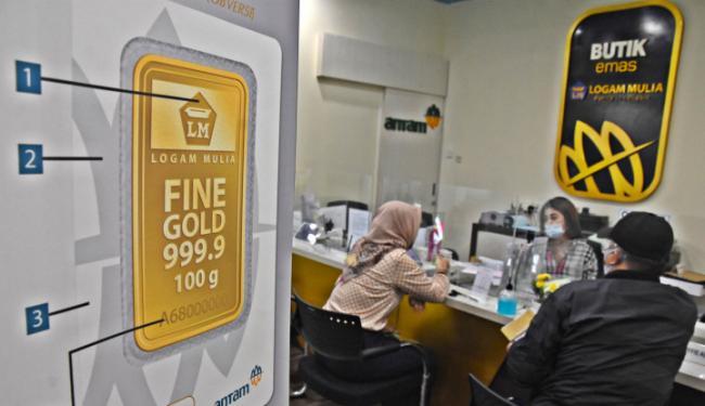Aneh Tapi Nyata: Harga Emas Antam Dulu Menjulang, Kini Terus Menerus Tumbang!