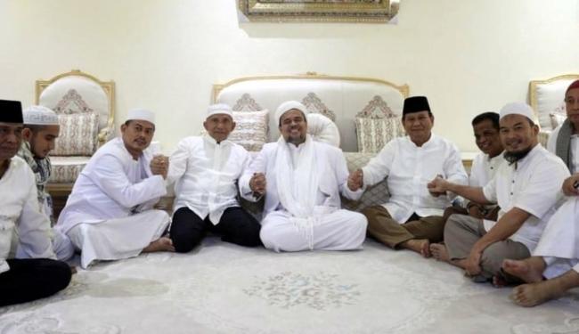 Kenal dengan Prabowo, Gerindra Lobi-Lobi Habib Rizieq Masuk ke...