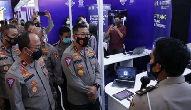 Lewat IT Road Safety Expo 2020, Kapolri Ingin Tingkatkan Pelayanan