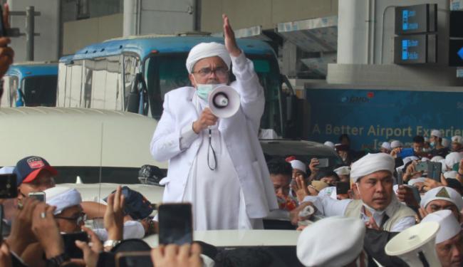 Doa Habib Rizieq Bikin Bergetar: Semoga Allah Hancurkan Pemimpin Pengkhianat!