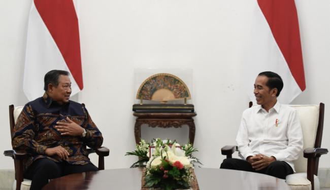 Posting Foto Jokowi Menunduk Depan SBY, Eks Anak Buah AHY Sampaikan 2 Pesan
