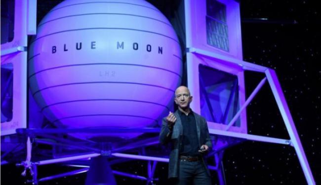 Tak Mau Kalah dari Elon Musk, Jeff Bezos Kirim Roket ke Bulan!