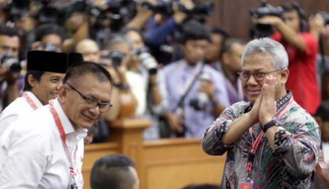 Alhamdulillah, Arief Budiman Ketua KPU Sudah Sembuh dari Covid-19