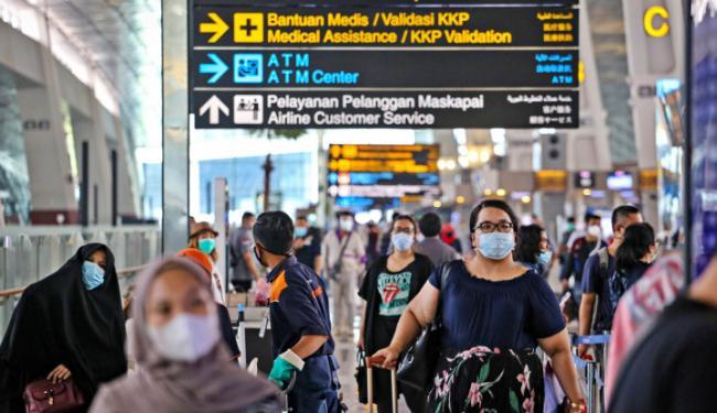 Protokol Kesehatan Transportasi Udara | Infografis