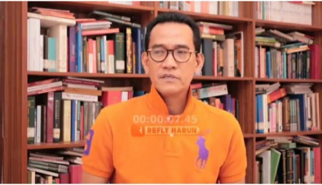 Katanya Jokowi Banyak Diserang, Cetus Refly Harun: Presiden Nggak Mampu...