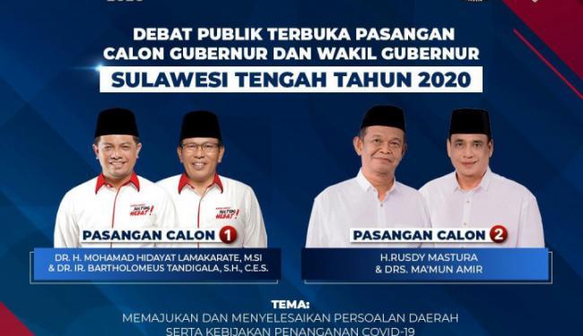 iNews Tayangkan Debat Terbuka Pilkada Sulawesi Tengah