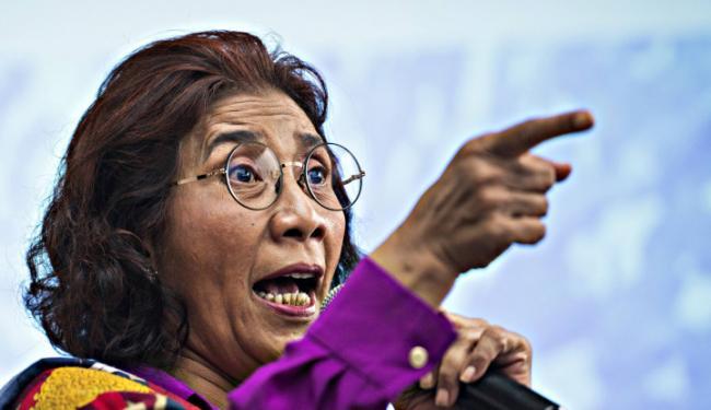 Diserang Adik Kandung Prabowo Subianto, Warganet Pasang Badan Bela Susi Pudjiastuti