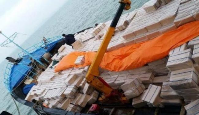 Patroli Laut Terpadu Bea Cukai 2020 Berhasil Amankan Berbagai Komoditi Ilegal