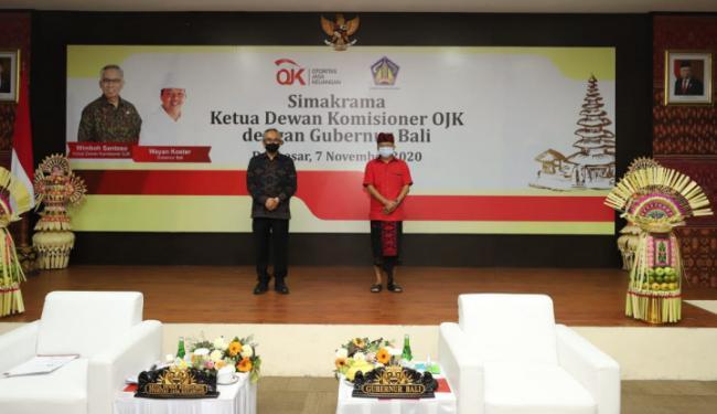 Bangkitkan Ekonomi Bali, OJK Beri Dukungan Penuh