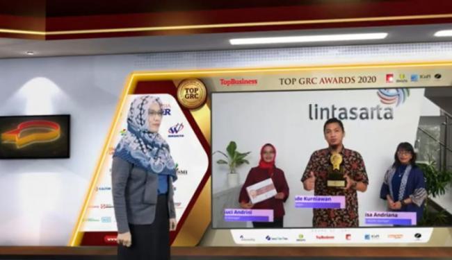 Ketje! Lintasarta Sabet Award untuk Implementasi GRC