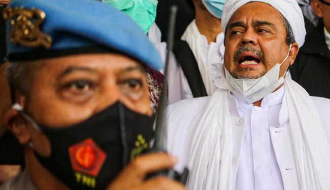 Diperiksa 13 Jam Sebagai Tersangka, Habib Rizieq Akhirnya Ditahan
