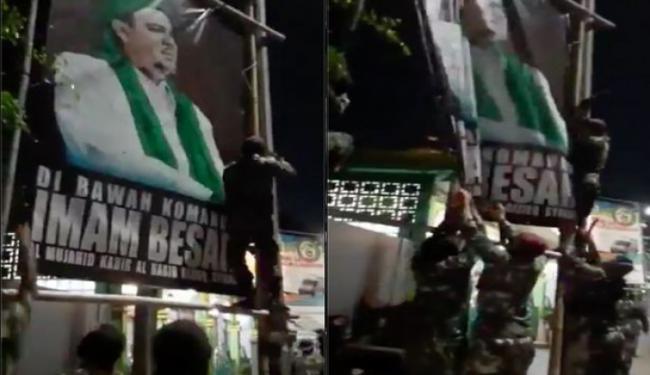 Baliho Habib Rizieq Dicopot, Jubir Maruf Amin: Memang Harus...