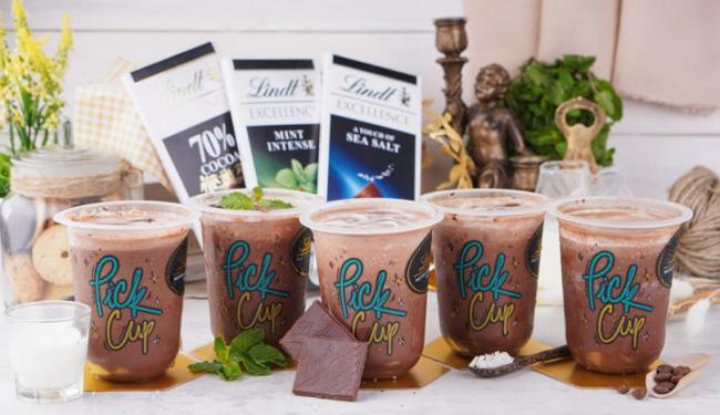 Bisnis F&B Bangkit, Pick Cup Kolaborasi Brand Coklat dari Swiss