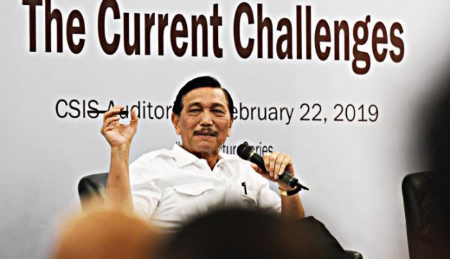 Jamin Gak Bakal Buat Rakyat Menderita, Luhut: Kita Beruntung Punya Presiden Macam Itu