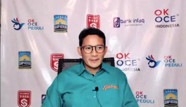 Diundang Sandiaga Uno Makan Bareng, Video Youtuber Ini Bisa Cetak Cuan Hingga Rp348 Juta!