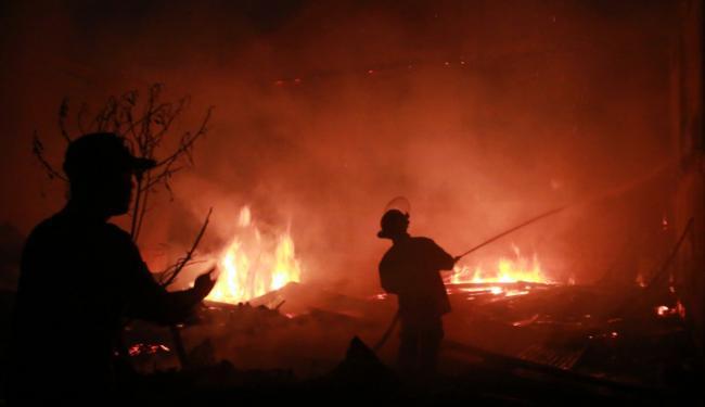 Kerusuhan di Wilayah Ibu Kota Kian Mencekam