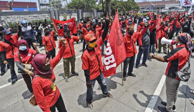 DS Tegas: Buruh Rugi, Demo Cuma Untungkan Partai Caper, Partai Siapa Ya?