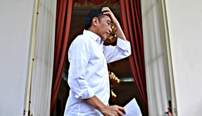 Akhirnya Jokowi Nongol...