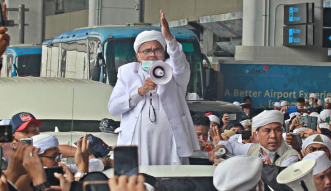 Gatot Cs Colek Habib Rizeq Gabung di Barisan KAMI: Lawan Penguasa Zolim