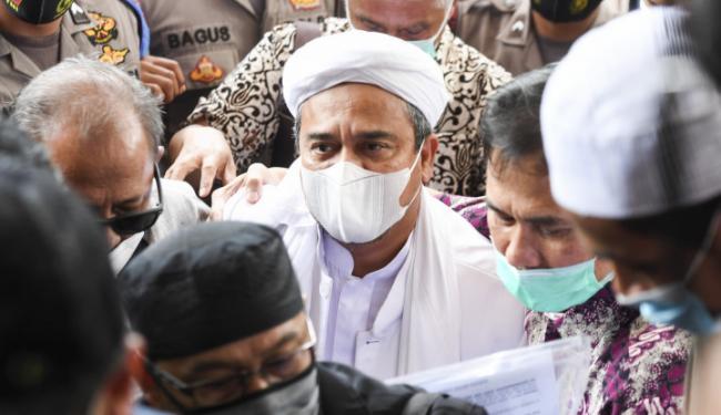 Selama Pemeriksaan, Polisi Cecar Habib Rizieq dengan 84 Pertanyaan