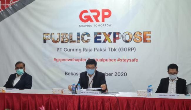 Tertekan Pandemi, Produksi GGRP Tetap Tumbuh 35,73 Persen