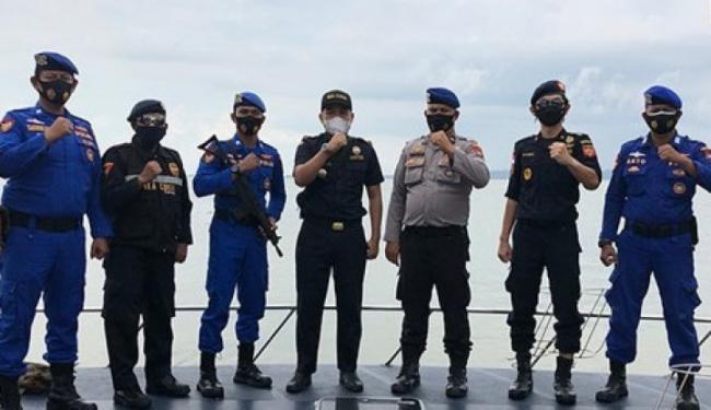 Gelar Patroli Laut Gabungan, Bea Cukai di Sumatera Bersinergi dengan Poairud